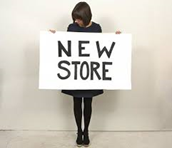 the new store